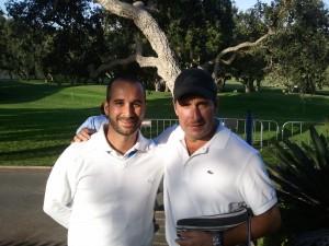 Jose María Olazabal y yo